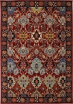 Bravado Mahir Red Area rug by Karastan RG817 147